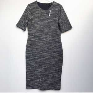 Banana Republic Short Sleeve Boucle Shift Dress 14